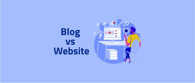 Blog vs Website