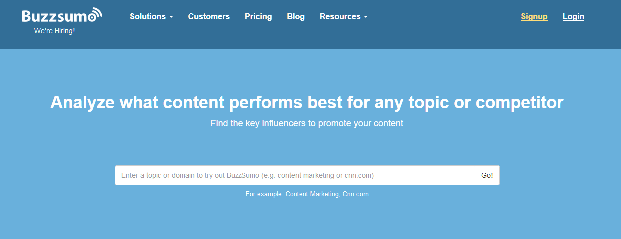 BuzzSumo_ Find the Most Shared Content and Key Influencers