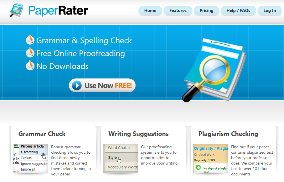 Free Online Proofreader_ Grammar Check, Plagiarism Detection, and more