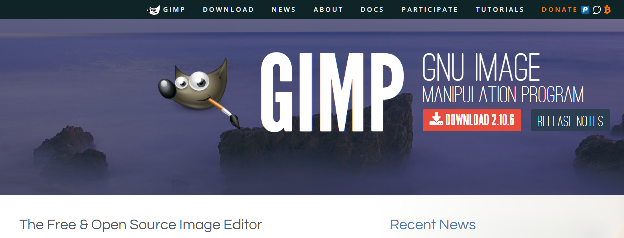 GIMP - GNU Image Manipulation Program