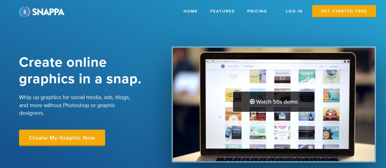 Snappa - Quick & Easy Graphic Design Software