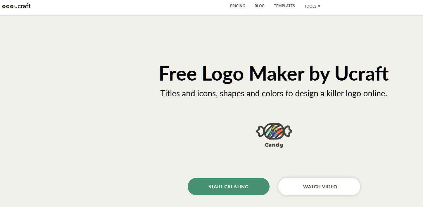 Free Logo Maker by Ucraft_ Create Beautiful Logos Online