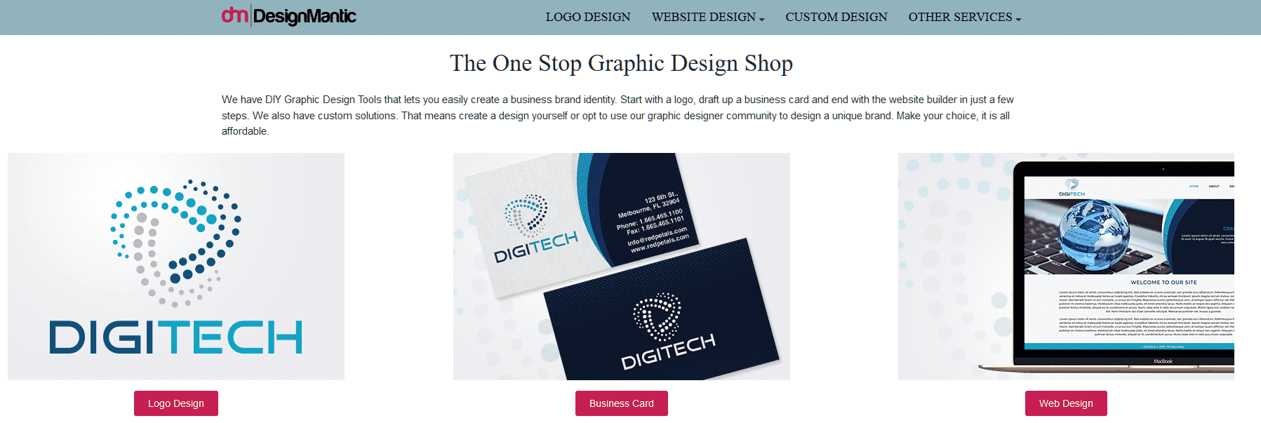 Graphic Design_ Make Logo, Website & More DIY Tools _ The Design Shop