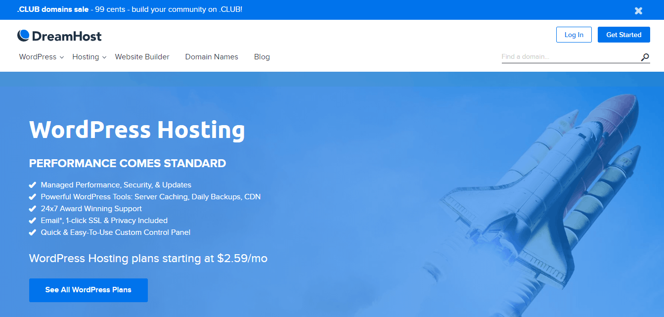 DreamHost _ Web Hosting For Your Purpose