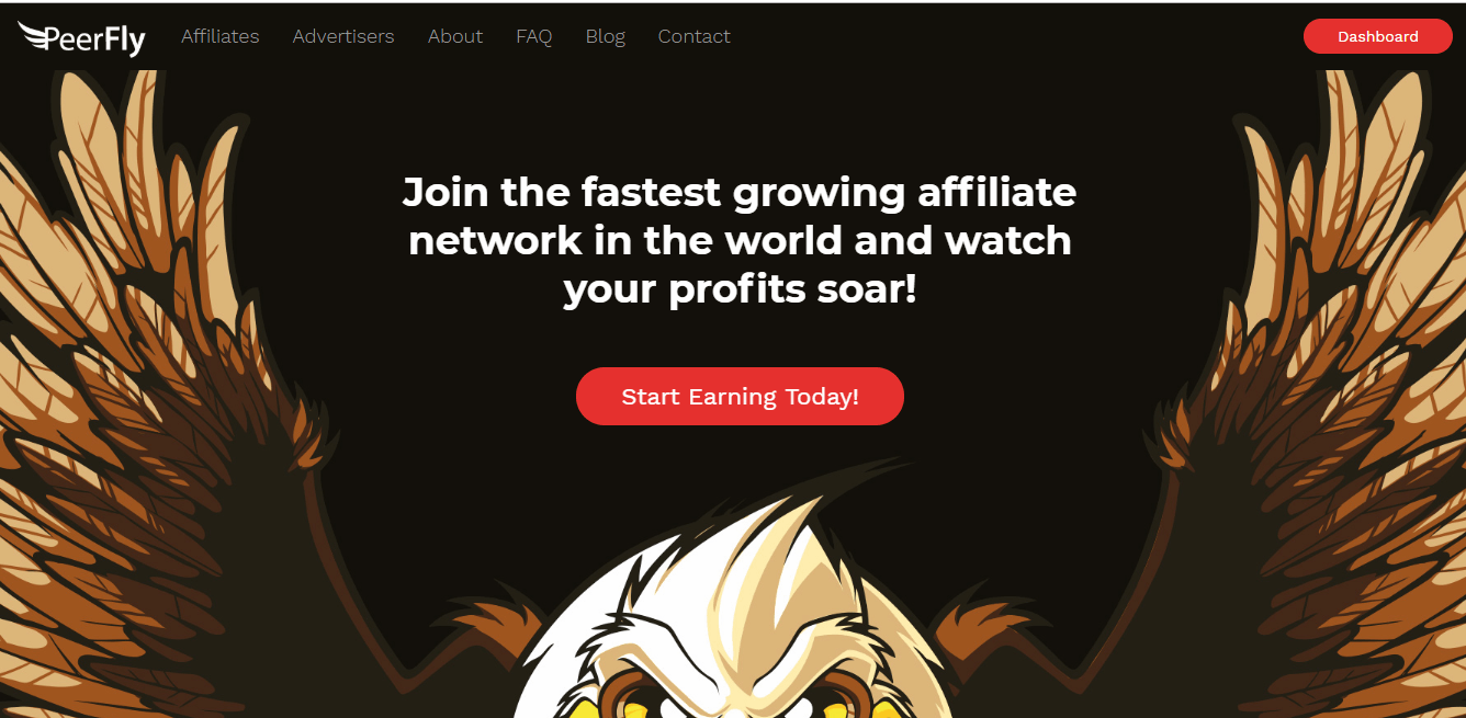 PeerFly fastest growing affiliate network in the world