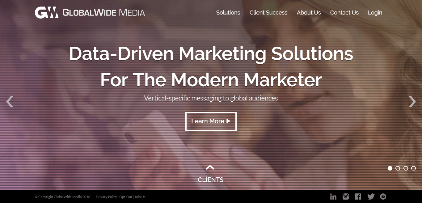 GlobalWide Media marketing solutions for the modern marketer