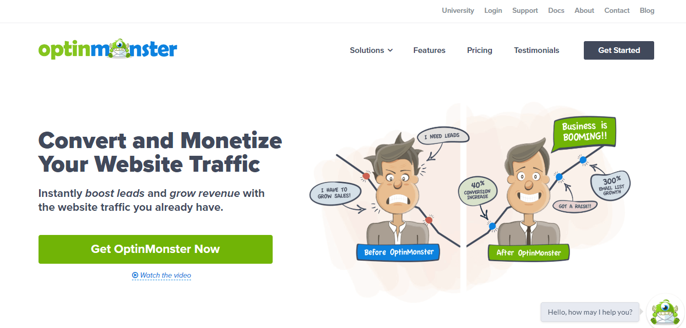 OptinMonster - Best Lead Generation Software for Marketers