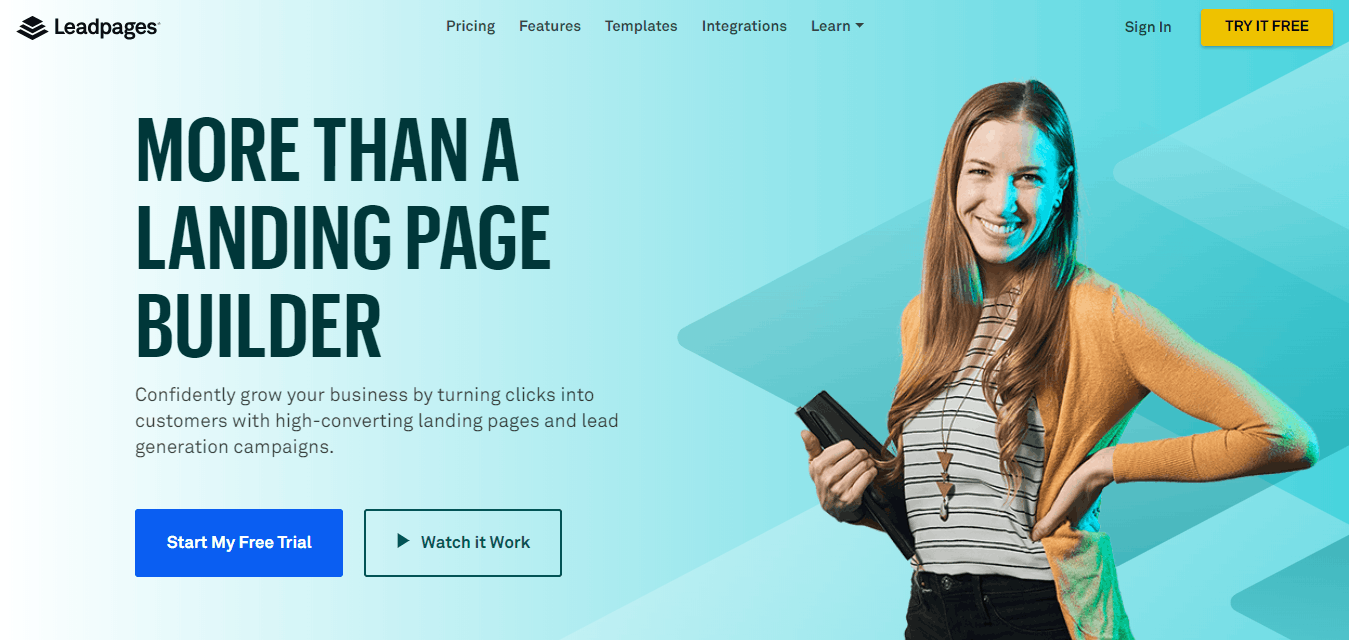 Leadpages® Landing Page Builder & Lead Gen Software