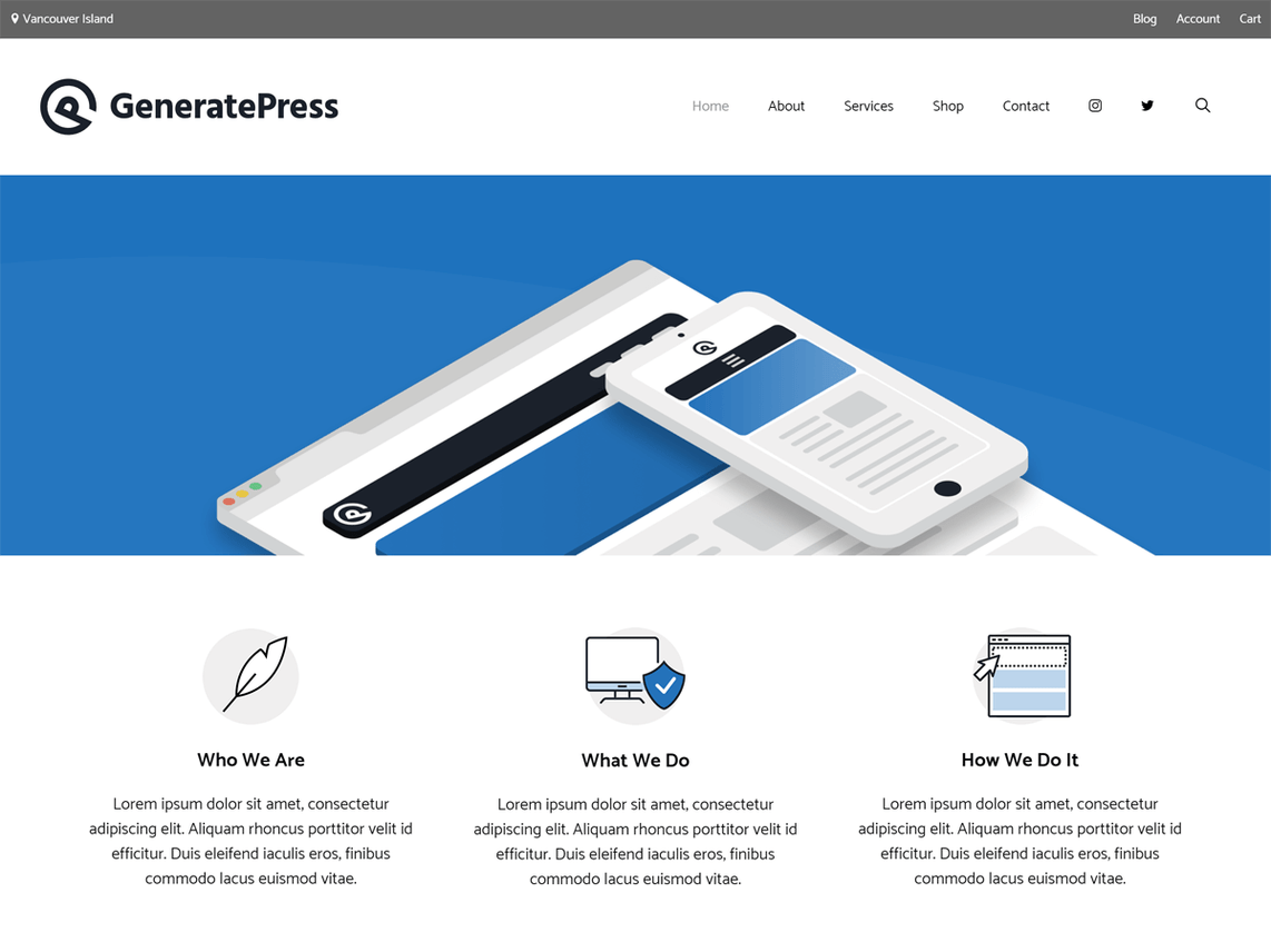 Best free WordPress theme for blogging