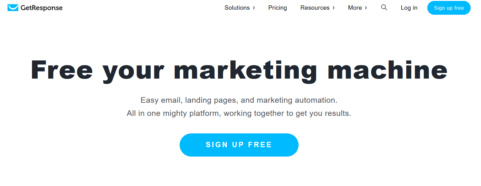 getresponse for email marketing