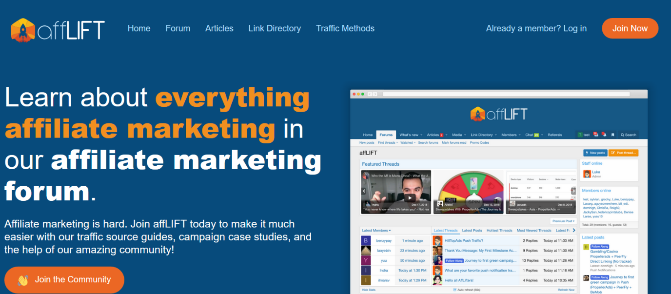 Afflift learn everything about affliate marketing